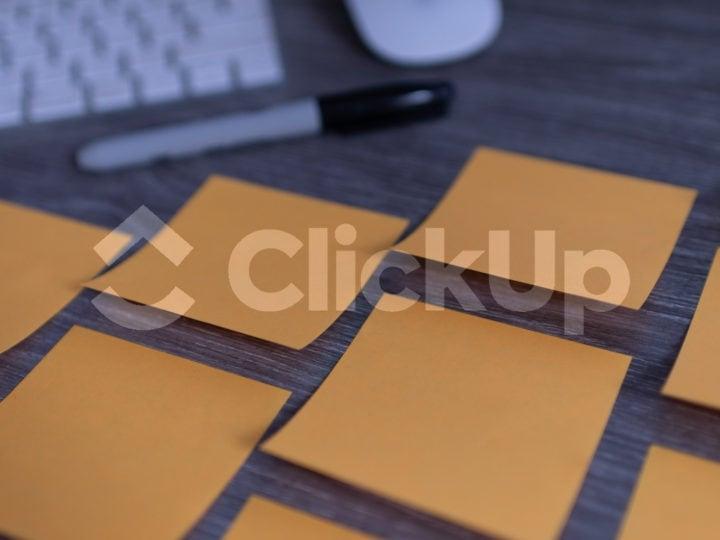 ClickUp czy tradycyjne karteczki